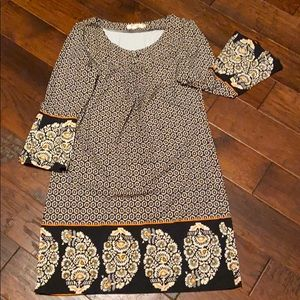 Aryeh dress- size Large - really cute retro vibe